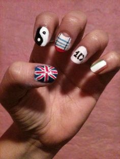 one direction nails!!