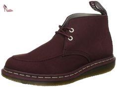 Dr Martens  Grady, Chukka boots homme - Rouge - Oxblood, 46 (12 UK) - Chaussures dr martens (*Partner-Link)