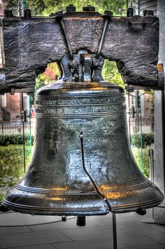 Liberty Bell, Independence Hall, Philadelphia Pennsylvania. I cried the first time I saw this in person.