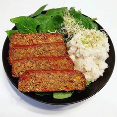 Vegetarian Recipes, Healthy Recipes, Healthy Food, Falafel, Meatloaf, Paleo, Food And Drink, Meals, Vegetables
