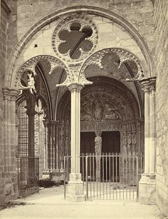 Bourges Cathedral, South Portal