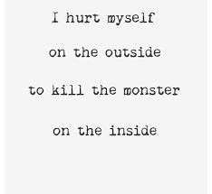 Image result for self harm quotes