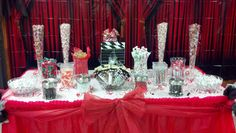 Candy Buffet that I did for Local Middle School Dance