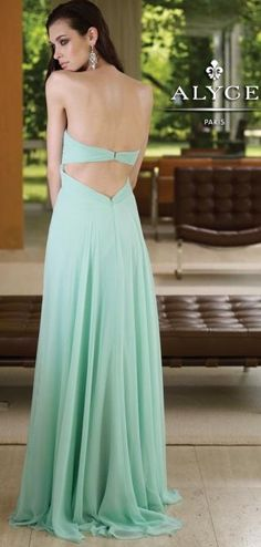 Mint gown