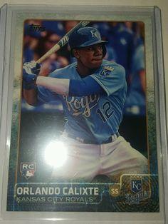 2015 Topps Update Orlando Calixte Rookie US331-Kansas City Royals in Sports Mem, Cards & Fan Shop, Cards, Baseball | eBay