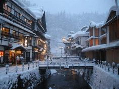 """""""Silver Mountain"""" is one of the most authentic onsen resort in Japan."""