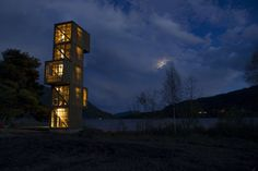 Seljord Watch Tower / Rintala Eggertsson Architects © Dag Jenssen