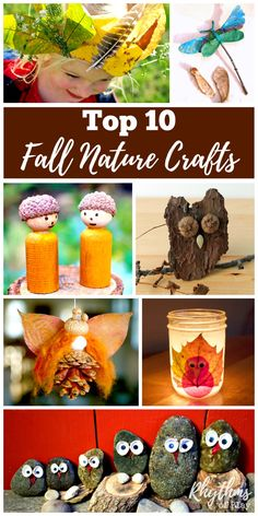 Try some of these fun top 10 fall nature craft projects this autumn. Fall is one…