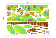 Wall Stickers for Kids Stick Wall Decals Wall Decals Decoration Wall Sticker Decal - Butterfly Tree and Flowers by bigbvg, http://www.amazon.com/dp/B0089CPQV4/ref=cm_sw_r_pi_dp_Phg0pb07KACSM