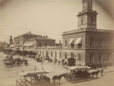 Old Photographs, Beautiful Buildings, Warsaw, Taj Mahal, Old Things, Black And White, City, Painting, Travel