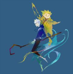 Rise of the guardians Jack Frost & Sandy