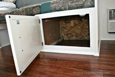 Pop Up Camper Remodel: Doors for the Dinette Storage - The Pop Up Princess