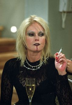 Patsy after a Marylin Manson concert