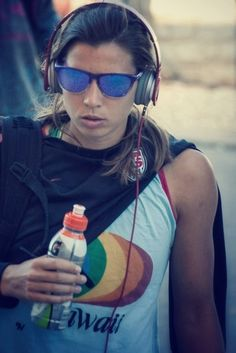 Tobin Heath swagga... only she could pull this off