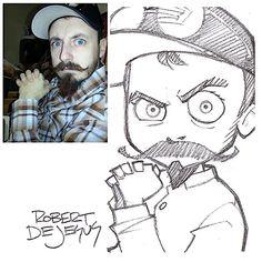Robert DeJesus verwandelt Menschen in Mangafiguren | KlonBlog