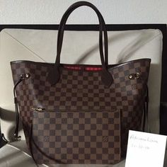 Louis Vuitton Handbags -  Authentic Louis Vuitton Neverfull MM