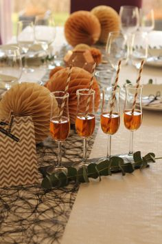 New Year Tablesetting