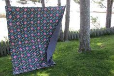 Photo: Picnic Blanket, Outdoor Blanket, Album, Quilts, Quilt Sets, Log Cabin Quilts, Quilting, Quilt, Picnic Quilt