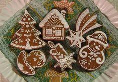 Christmas Biscuits, Christmas Cookies, Christmas Ornaments, Crazy Cookies, Cute Cookies, Gingerbread Man Cookies, Honey Cake, Cute Food, Pain