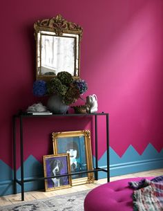 fuchsia paint color