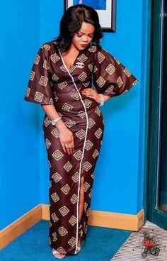 nice ~DKK ~ Latest African fashion, Ankara, kitenge, African women dresses, African p. African Fashion Designers, African Fashion Ankara, Ghanaian Fashion, Latest African Fashion Dresses, African Print Dresses, African Dresses For Women, African Print Fashion, Africa Fashion, African Wear