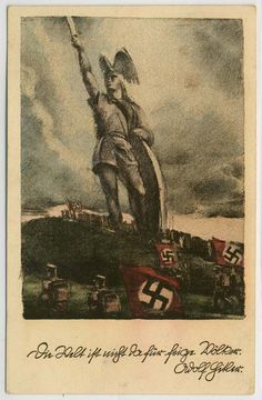 """German  WW2  """"The world is not for cowardly people"""""""