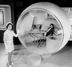 The space age Living Capsule - Sanyo Electric Corporation, 1970 http://atomic-flash.tumblr.com/post/113950227184/the-space-age-living-capsule-sanyo-electric