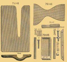 wood drawer for singer 29k - Google Search