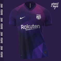 Sport Shirt Design, Sports Jersey Design, Jersey Designs, Football Pitch, Football Tops, Football Jerseys, Barcelona Football Kit, Fc Barcelona, Football Shirt Designs