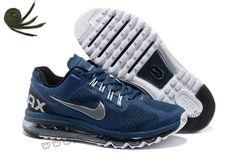 Free Shipping 6070 OFF Discount Nike Air Max 2015 Mesh Cloth Womens Sports Shoes  Black Blue XC724896