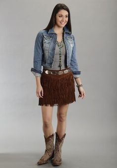 Stetson 11-060-0539-0708 Br Ladies Stetson Skirt Brown 16 * Continue to the product at the image link.