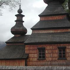 Gothic wooden church of southern Poland.