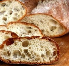 How to Make a Perfect No Knead Ciabatta Bread. Makes amazing sandwiches and great just for snacking with cheeses, olive oil etc.