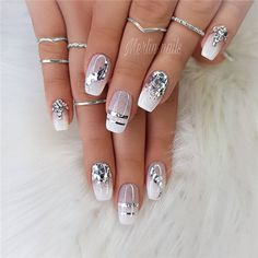 Wedding Natural Gel Nails Design Ideas for Bride 2019, #WeddingNails, #NaturalGelNails, #BrideNails, #GelNails