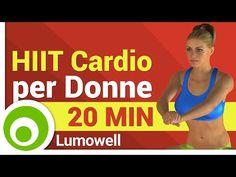 Allenamento HIIT a Corpo Libero - Esercizi Cardio da Fare a Casa per le Donne - YouTube