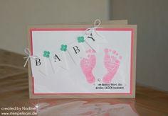 Babykarte Stampin Up Baby Card Karte Card Grusskarte 010