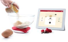 Kitchen scales blog and ipad on pinterest for Ipad kitchen scale