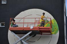 Street Art, Arte Urbana, Graffiti, O Bairro i o Mundo, Quinta do Mocho, Sacavém, Loures, RAM.