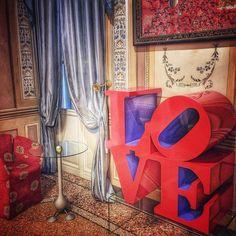 Con quattro lettere puoi dire tutto... @byblos.art.hotel  #love #arthotel #verona #robertindiana by daiana_lorenzato