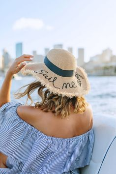 A Pair & A Spare | DIY Word Embroidered Hat