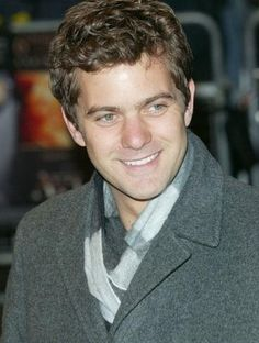 joshua jackson (aka, pacey witter). Someone steady who also makes you laugh. I like a man to be a grounding influence. Reassuring somehow.
