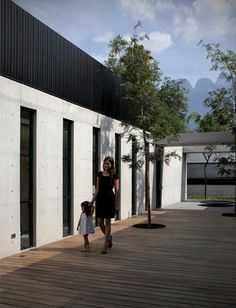 house in Nuevo León, Mexico, by Monterrey studio Stación-ARquitectura