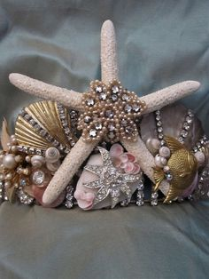 Blinged out shells. Holy moly. Need to do this
