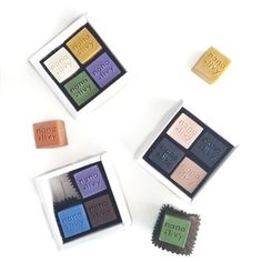 Mix + Match Soap Block Mini Gift Set from Nana+Livy Handmade Bath Treats. Cold Process Soap, Mix Match, Treats, Bath, Graphic Design, Mini, Frame, Handmade, Gifts