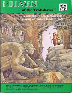 1986 Middle Earth Role Playing MERP: Hillmen by RubbersuitStudios The Middle, Middle Earth, Start Trek, New Fantasy, Young Animal, Jrr Tolkien, Magic The Gathering, Lotr, Dungeons And Dragons