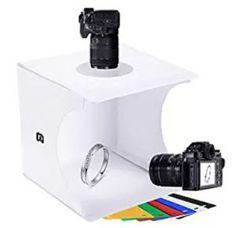 Consumer Electronics Photo Studio Accessories Hot Sale 2 Led Folding Light Boxes 40*40 Portable Studio Soft Light Box Adjustable Brightness Light Box Slr Camera