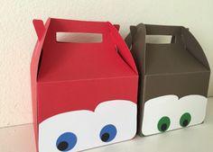 Disney cars party favor boxes
