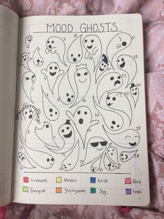 If you're looking for mood tracker ideas for your bullet journal, then you've come to the right place. Here are 36 monthly bullet journal mood tracker ideas you have to try! Bullet Journal Tracker, Doodle Bullet Journal, Bullet Journal Mood Tracker Ideas, Bullet Journal Notebook, Bullet Journal Themes, Bullet Journal Inspiration, Journal Ideas, Bullet Journal October Theme, Bullet Journal Calendar Ideas