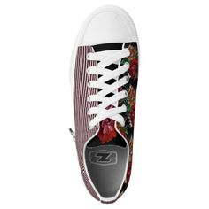MATRYOSHKA COLLECTION Low-Top SNEAKERS - flowers floral flower design unique style