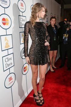 Taylor Swift - 2014 HYUNDAI/GRAMMYs Clive Davis Pre-GRAMMY Gala Activation + Equus Fleet Arrivals